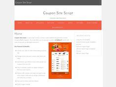 Coupon Site Script Discount Code - Coupon Site Script Discount - Inside we have the largest Coupon Site Script discount vouchers. Here are the discounts  http://freesoftwarediscounts.com/shop/coupon-site-script-discount/