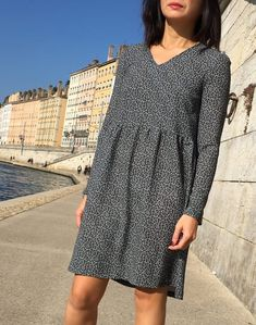 Robe Idylle by Atelier Scammit - Imprimé by Printstand mode couture
