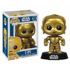 Figurine Funko Pop Star Wars C-3PO 12 cm