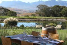 An overview of restaurants at wine estates in Stellenbosch close to Cape Town, South Africa. Wine Enthusiast Magazine, South Afrika, Wine Safari, Harlem Shake, Ghostwriter, Luxury Accommodation, Travel Channel, Outdoor Furniture Sets, Outdoor Decor