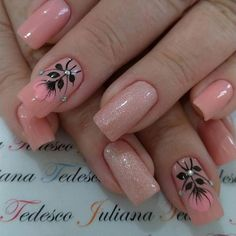 French Tip Nail Designs, Crazy Nail Designs, Nail Art Designs, Hot Nails, Pink Nails, Hair And Nails, Stylish Nails, Trendy Nails, Diy Acrylic Nails