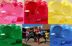 power rangers samurai party supply idea