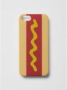 Jack Spade x Gap Kids Hotdog iPhone Case