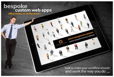 We can design fully custom software apps for you to run your business needs from.