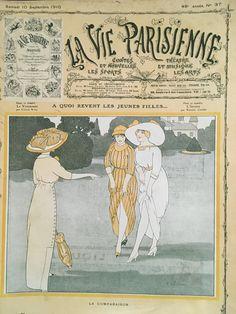 Fabien Fabiano (1882 – 1962). La Vie Parisienne, 10 Septembre 1910. [Pinned 19-vi-2017]