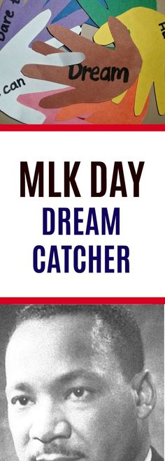Elementary Activity for MLK Day #martinlutherekingjr #handprint  #dreamcatcher