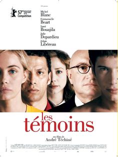 Les Temoins Laffiche Du Film Dandre Techine
