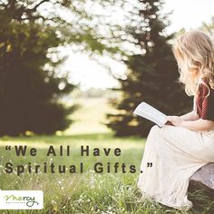"""Ultimately our gifts are given to serve and love God and others.""  NEW #CarryingFreedom #Blog - we all have spiritual gifts that God has placed within us. Start connecting with yours >> mercyoutreachblog.com << link in bio."
