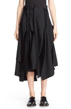 Comme des Garçons Wool Gabardine Skirt available at #Nordstrom
