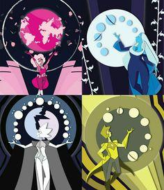 Steven Universe Pictures, Steven Universe Wallpaper, Steven Universe Funny, Marvel Wallpaper, Yin Yang, Pink Diamond Steven Universe, Steven Univese, Universe Art, Universe Theories