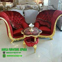 Kursi sofa safir klasik mewah  Untuk info pemesanan  No hp 082257831747 Whatsap 089693228230
