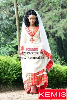 Ethiopia dress Ethiopian dress Habesha dress Ethiopian clothing Ethiopian modern dress Kemisd - New Ideas Ethiopian Beauty, Ethiopian Dress, Ethiopian Traditional Dress, Traditional Dresses, Traditional Weddings, Ethnic Fashion, African Fashion, African Style, Hijab Fashion