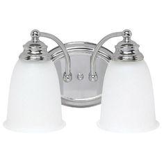 Capital Lighting 1087CH-132 - 2 Light Vanity, Chrome