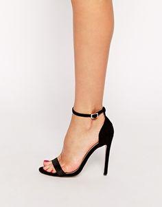 Босоножки на каблуке Asos