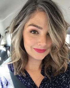 These 50 Women Who Ditched Dyeing Their Hair Look So Good It May Convince You To. - - These 50 Women Who Ditched Dyeing Their Hair Look So Good It May Convince You To Do The Same Gray Hairstyle Models 2019 Top Best Gray Hairstyle ideas . Gray Hair Growing Out, Grow Hair, Grey Hair Young, Gray Hair Women, Grey Hair Lob, Brown Hair Going Grey, Curly Gray Hair, Grey Hair Over 50, Grey Hair Styles For Women