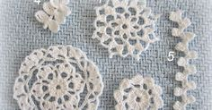 Thread appliques can be used in many ways. They can adore pillow cases, cushion covers, little girls' dresses, tote bags, etc. They can al...