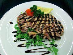 Tagliata di tonno con rucola - Tuna steak with rocket  Steak Restaurant