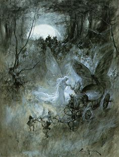 """Thomas Maybank (exh. 1898-1912 ) - """"The Court of Faerie"""""""