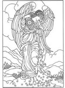 Angel Coloring Pages for Adults - Bing Images