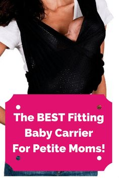 The Best Fitting Baby Carrier for all shapes and sizes - especially petites! A Baby K'Tan Review