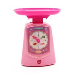 MICHLEY Electronic Scales Playset for Kids Pretend Play Toys ABS Material *** Check out the image by visiting the link.
