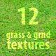 grass & ground textures 12  JPEG  's, hi-res, 2400×1600px
