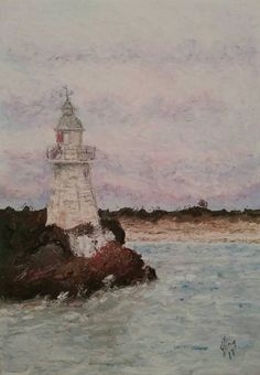 Hey, I found this really awesome Etsy listing at https://www.etsy.com/au/listing/539181199/historic-lighthouse-painting-hells-gates