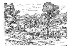 ink: landscape