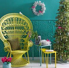 Peacockchairs  #colour #bright