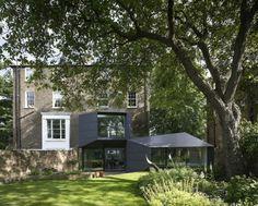 idée d'agrandissement de maison de style moderne