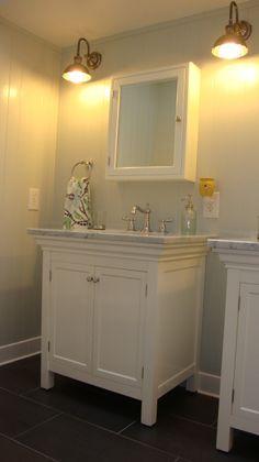 A bathroom to share, Bathrooms Design