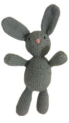 VirkotieDENIM Blue Bunny Virkotie DENIM Quality 100% Wool Bunny HANDMADE IN AUSTRALIA @virkotie www.virkotie.com