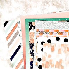 I'm just in love with the papers included in our #october2015 kits  @pinkpaislee @pebblesinc @americancrafts @amytangerine @dearlizzy #hipkitclub #hipkits #scrapbookkits