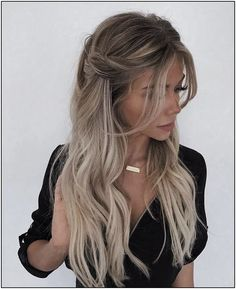 Trendy Braided Hairstyles For Long Hair Looks Fantastic Hairstyles . Quick Hairstyles, Celebrity Hairstyles, Pretty Hairstyles, Hairstyle Ideas, Long Blonde Hairstyles, Straight Hairstyles For Long Hair, Long Hair Dos, Updo Hairstyle, Hairstyles For Pictures