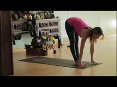 Yoga Body Workout: Free yoga class (Ashtanga 30 min intro class) with Lesley Fightmaster - YouTube