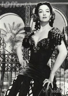 María Félix was a Mexican actress, considered by many to be the most iconic leading lady of the Golden Age of Mexican cinema, known for her larger-than-life, tough film characters.