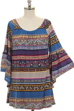 The Cabo Tunic is vibrant with gorgeous colors and patterns. It is only $28.95 and ships free from https://www.dirtroaddivaboutique.com/ProductDetails.asp?ProductCode=CTun.
