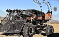 The WARPLANE.  Best in Show Wasteland weekend 2016.      Cooper Purzycki and his father went full Wasteland when they mounted the rockwell c