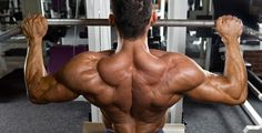 Get yoked with these back exercises that work your trapezius muscles, rear delts and rhomboids. Check out this complete back workout and instructional exercise guide. Muscle Building Supplements, Muscle Building Workouts, Gym Workouts, Fitness Man, Muscle Fitness, Muscle Diet, Health Fitness, Muscle Protein, Fitness Routines