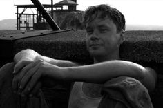 """""""Get busy living... or get busy dying.""""  -Andy Dufresne; """"The Shawshank Redemption""""    When I was ten, I wanted to grow up to be as wonderful a human being as him. #shameless <3"""