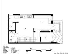 Casa BD,Planta inferior