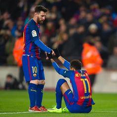 FC Barcelona @fcbarcelona: @leomessi & @neymarjr
