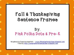 PinkPolkaDotsandPre-K Shop - | Teachers Notebook