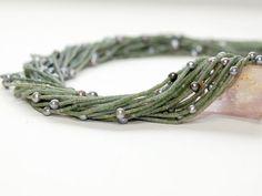 Mix Strang - Serpentinwalzen 2 mm, Zuchtperlen 5x6 mm - 42 cm/6023 | eBay