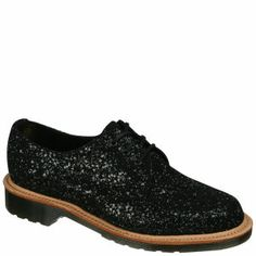 Fashion with a conscience: Dr. Martens 'Made In England' 1461 glitter brogues #footwear #shoes #fashion