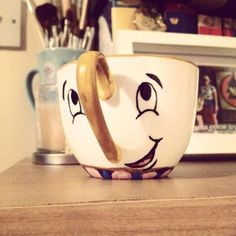 Chip Teacup inspired by Beauty and the Beast. by BeOurGuestGifts, £9.00 It is so cute, I must have it.