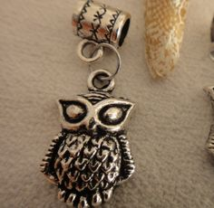 Add an owl to your collection of charms to adorn your Pandora bracelet.