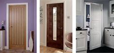 Cheap internal doors UK are manufactured from various materials. The most widely used material is wood. A door is a panel or barrier that is used to cover a wall opening. Doors are found in almost all types of building to allow passage between the inside, outside and between the internal rooms. When these doors are open these also provide light and ventilation.