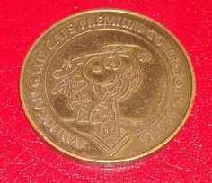 1994 Peanuts UFS Inc American Game Caps Collector's Series Snoopy Woodstock Coin $3.49