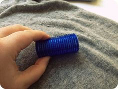 remove bobbles from clothes by athriftymrs.com, via Flickr